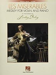 Les miserables medley for violin and piano violon -livre +partition