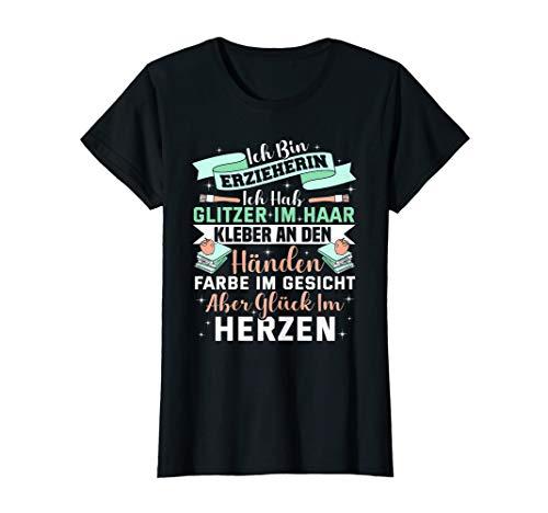 Damen Erzieher Pädagogin Beruf - Lustiger Erzieherin Spruch T-Shirt