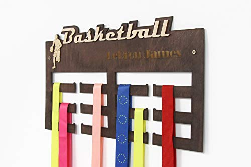 All sports Medal Display, Basketball, Medal Hanger, Basketball Gifts, Medal Display, Medal Rack, Medal Holder, Kids Wall Art, Basketball Coach Gift, Basketball Mom