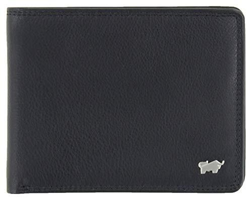 Braun Büffel Golf Edition Geldbörse 4+3CS 12 cm schwarz