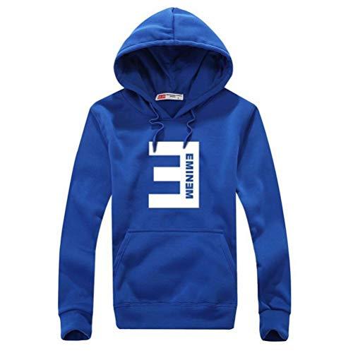 Xdsy Eminem Sweater Europäischer und amerikanischer Street Fashion Sweatshirt Hoodie,4,L