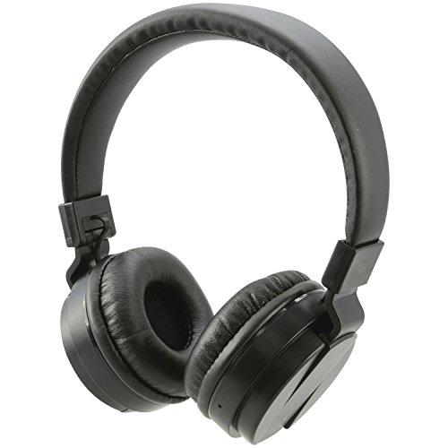 iLive Bluetooth Wireless Headphones with Microphone (iAHB6B),Black