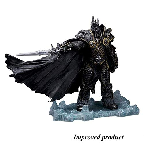 Jiaming World of Warcraft Serie: El Rey Exánime Arthas Menethil Deluxe Collector Figura -8.66in