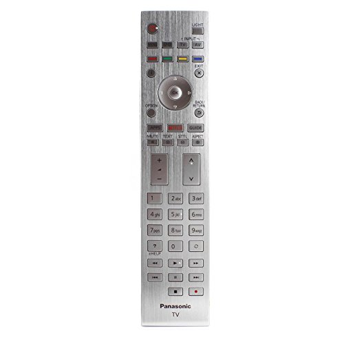 Fernbedienung für Panasonic TX-65CZW954 TX65CZW954 LED TV - Mit zwei 121AV AAA Batterien enthalten