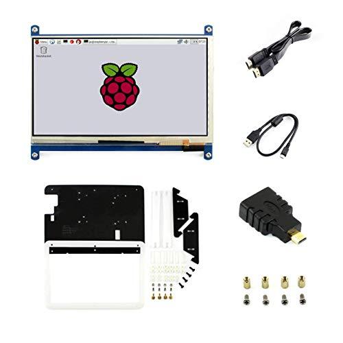 "Display LCD touchscreen da 3,5"", 320x 480, display TFT, interfaccia SPI per RPI3/2 B/B+/A 7+inches C with case"