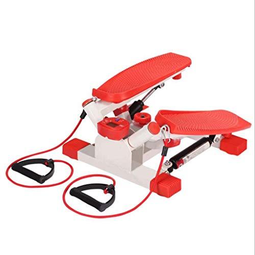 Mini-Stepper Swing Stepper Stepper, Mini máquina de Pedal de Ejercicio Escalonado multifunción Equipo de Fitness para pérdida de Peso