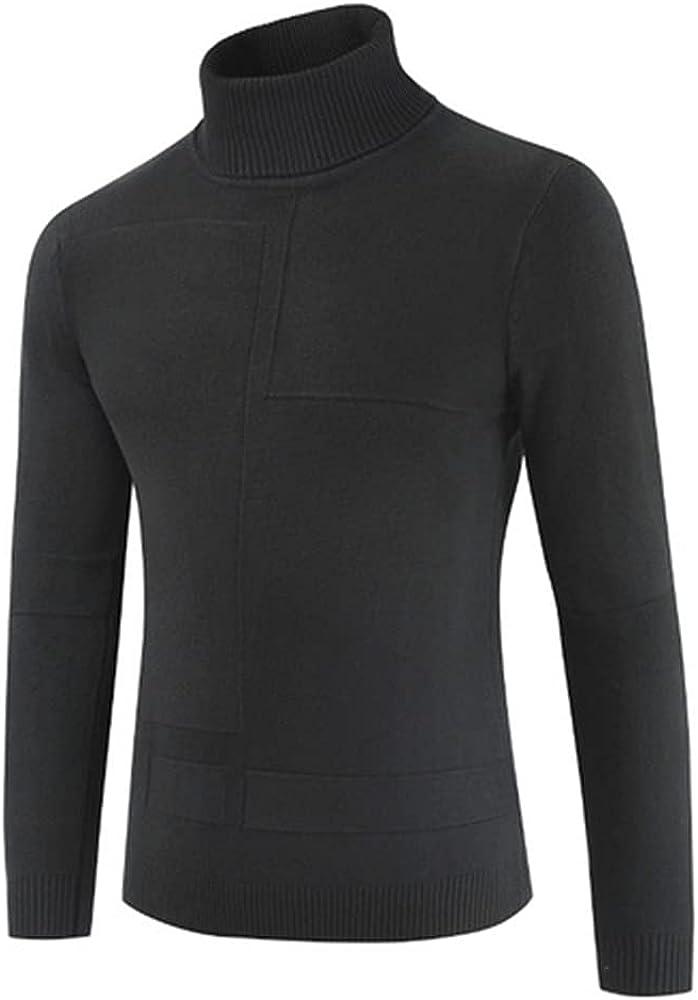 NP Men's Autumn Turtleneck Thin Sweater Pullovers Sweater