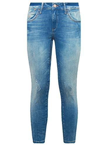 Mavi Damen Adriana Ankle Jeans, Blau (True-Blue Barcelona STR 22328), W27