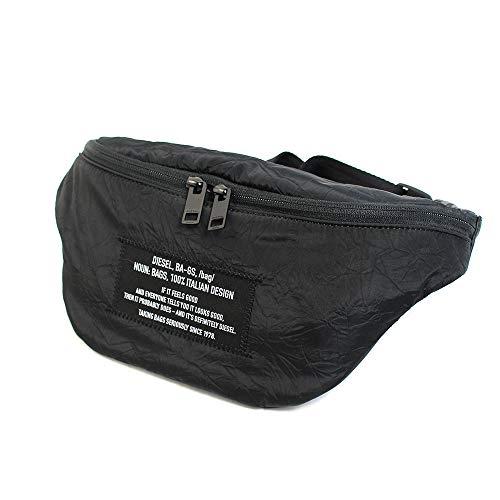 ディーゼル DIESEL バッグ ベルトバッグ ウエストポーチ ウエストバッグ メンズ ヒップバッグ ブラック SUSEGANA F-SUSE BELT DZ コンパクト ブランド X07276