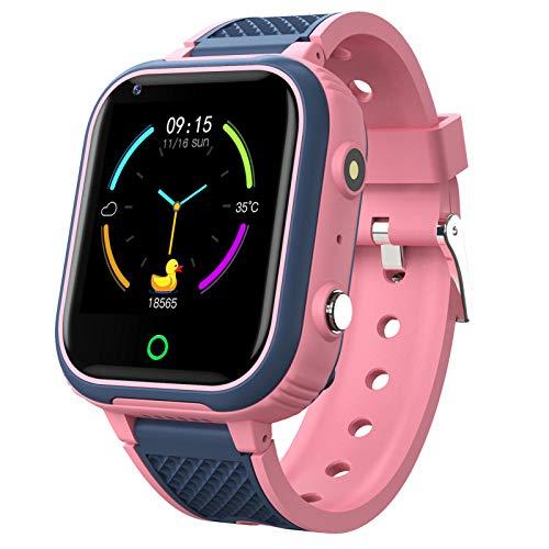 9Tong Tracker Musik Smart Watch Kinder SOS GPS Uhr Smartwatch Kinder Kamera Spiel Kinder Smart Watch 4G Touchscreen Armbanduhr für Jungen mädchen Geschenk