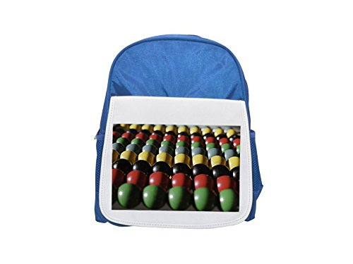 Colorful Abacus impreso Kid 's azul mochila, para mochilas, cute small Mochilas, cute negro mochila, Cool mochila negra, moda mochilas, Gran moda mochilas, negro moda mochila