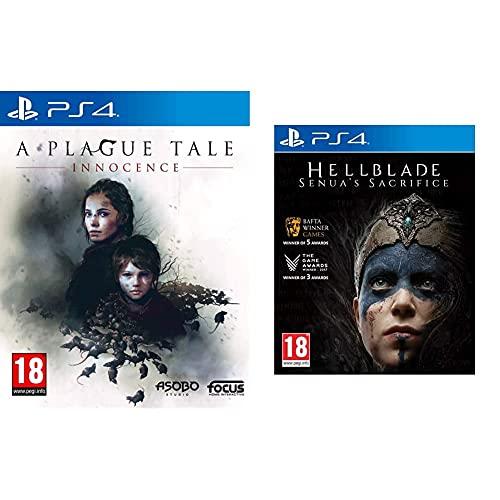 A Plague Tale Innocence - PlayStation 4 & Hellblade Senua's Sacrifice - Playstation 4