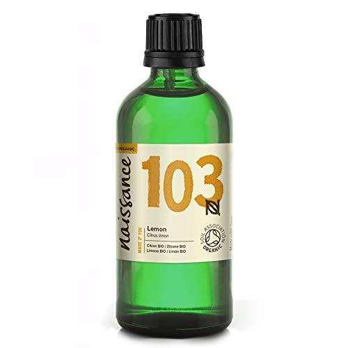Naissance Zitronenöl (Nr. 103) 100ml BIO zertifiziert 100% naturreines ätherisches Öl
