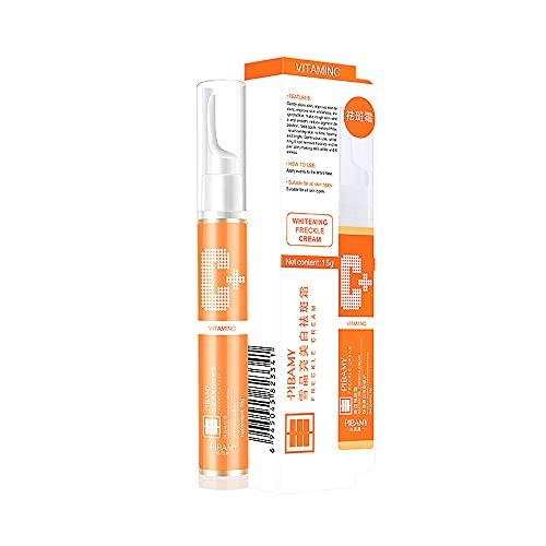 MKYUHP Freckle Cream,Dark Spot Melanin Pigmentation Removal,Blackhead Pens withNaturals Vitamin C Cream with Hyaluronic Acid