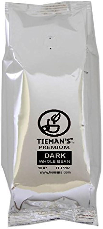 Tieman's Fusion Coffee, Low Acid Medium Roast, Ground, 10 Ounce?(6 Pack)