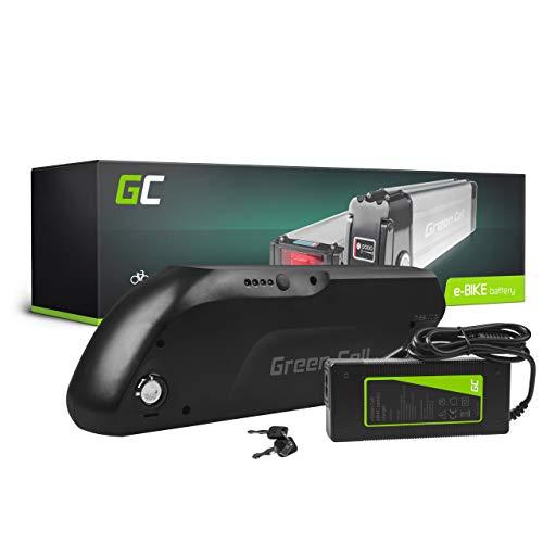 Green Cell GC® Bateria Bicicleta Electrica 36V 13Ah E-Bike Down Tube Li-Ion con Cargador