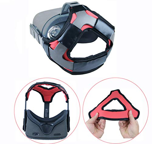 Cheapest Prices! Esimen (Upgrade) Head Strap Pad for Oculus Quest Virtual Reality VR Headset Cushion...
