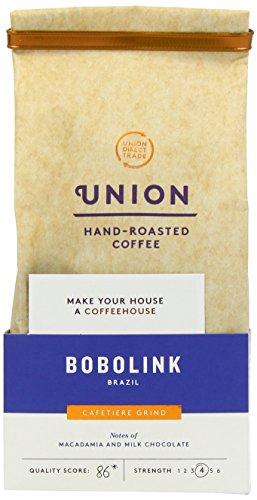 Union Hand Roasted Coffee Brazil Ground Coffee, 200g