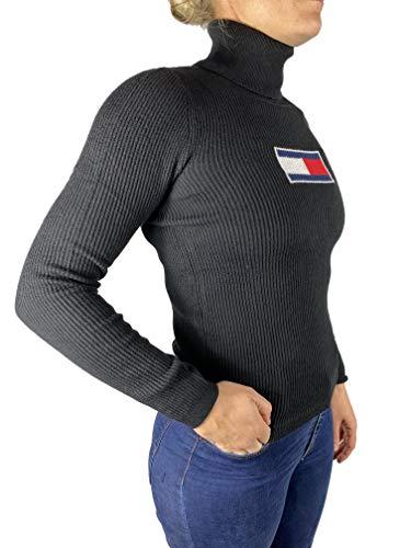 Tommy Hilfiger Flag Roll Neck Pullover Damen
