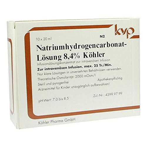 Hydrogen sodio policarbonato 8,4% 10x 20ml