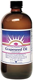 Heritage Store Grapeseed Oil, 16 Ounce