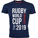 T-Shirt Enfant Coupe du Monde DE Rugby 2019 - Collection Officielle Rugby World Cup - 10 Ans