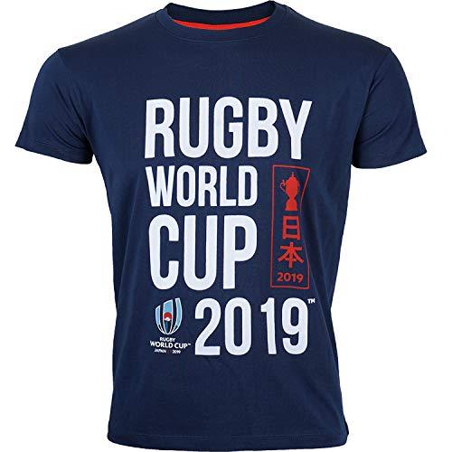 T-Shirt Enfant Coupe du Monde DE Rugby 2019 - Collection Officielle Rugby World Cup - 14 Ans
