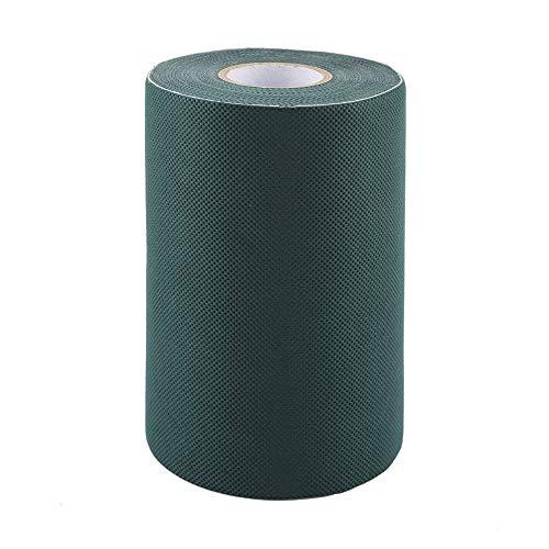 Weikeya Grasband, Spleißband, ein Eimer Kleber, einfaches Grasband, aus Vlies (grün)