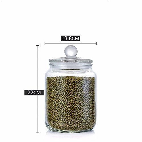 D'étanchéité des réservoirs de stockage de verre contre l'humidité en chinois à base de plantes en pots de stockage alimentaire fruits secs dépend d'admettre ,show bouteille bouteille 2000ml