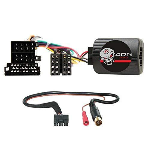 Interface Commande au volant AR1K compatible avec Alfa Romeo 147 156 GT 00-07 Kenwood