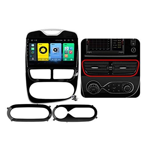 Android 10 10.1 Pollici Autoradio Multimediale per Renault Clio 4 Zoe 2012-2019 Supporto Navigatore GPS/FM AM RDS 5G DSP/Bluetooth Vivavoce/Carplay/Controllo del Volante,2012~2016,7862: 6+128