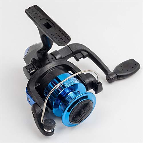 Bait reel 1000 Series 8 Color 3BB 5.1:1 Reel de pesca giratorio con taza de alambre de carrete Plegado automático para pesca de mar Agua salada izquierda derecha reel