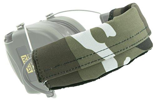MSA Sordin Supreme Pro X Bandeau de Remplacement | 1 Bande de Tissu par ACE | Matériel: PVC Polyester | Snowland Camo