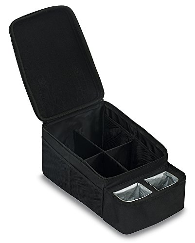 Britax Car Seat Storage Caddy with Cup Holders, Black