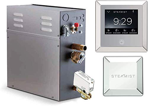 Best Bargain 12 KW Steam Bath Generator Steamist SMP-12 with 450 Digital Time and Temperature Contro...