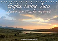 Gigha, Islay, Jura - Zauber schottischer Inselwelt (Tischkalender 2022 DIN A5 quer): Zauberhafte Impressionen von den Inneren Hebriden (Monatskalender, 14 Seiten )