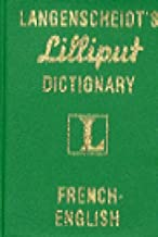 Langenscheidt's Lilliput Dictionary French English