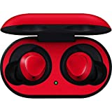 Skinit Decal Audio Skin for Galaxy Buds - Officially Licensed Skinit Originally Designed Red Design