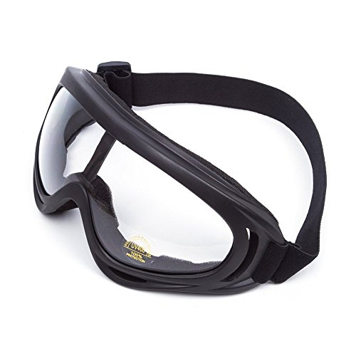 Wildken Skibrille Motorrad Sonnenbrillen Flexible Schutz Goggle Anti-Kollision Elastische Schutzbrille Mit Winddicht Und Staubdicht UV 400 für Damen und Herren Jungen und Mädchen
