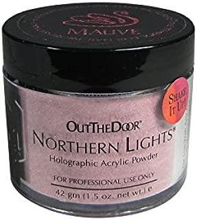 INM Powder Northern Light Holographic Mauve 1.5oz