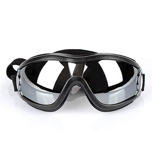 Yi-xir Diseño perfecto para mascotas gafas de sol de perro gafas de sol a prueba de viento dorado retriever impermeable impermeable mediano y orotund perros al aire libre Cómodo y transpirable