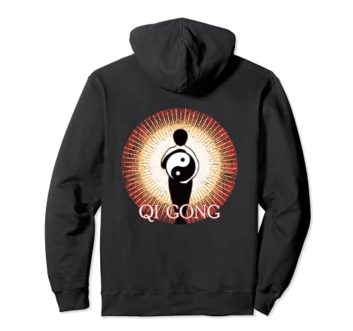 Qi Gong-Yin Yang, Meditación energética-Tai Chi Sudadera con Capucha