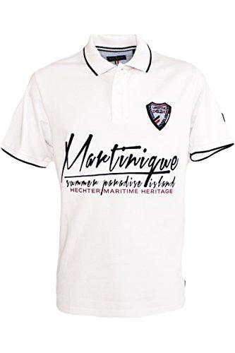Daniel Hechter Fashion Polo-Shirt Weiss in S