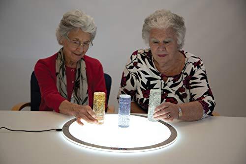 mesa luz tickit redonda