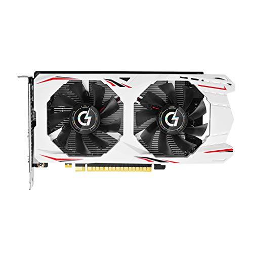 Irjdksd Grafikkarte GTX1650 4G GDDR5 NVIDIA 128 Bit 8000 MHz 1485-1665 MHz HDMI + DVI 12 Nm 896 Einheit 75 W GTX1650 Grafikkarte Für Spielzubehör