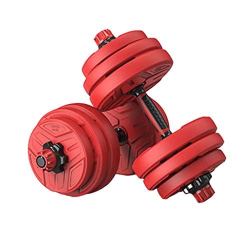 Dumbbells Hantel mit einstellbarem Gewicht Hantel-Set Krafttraining für Männer und Frauen mit Hantelhalter