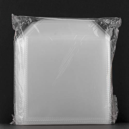 Dragon Trading® Lot de 10 étuis en plastique transparent pour CD/DVD 150 microns