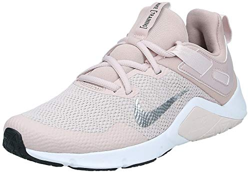 Nike Damen WMNS Legend Essential Leichtathletik-Schuh, Stone Mauve/White-Barely Rose, 40 EU