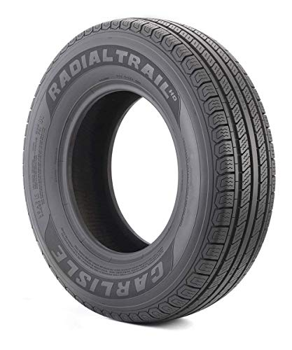 Carlisle 6H04561 Radial Trail HD Trailer Tire - 205/75R14 105M