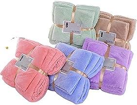 Wilson Merchants Microfiber Handdoek Set Luxe Fleece Absorberend Zacht Sneldroog, Hotel, Spa, Badkamer (Khaki)